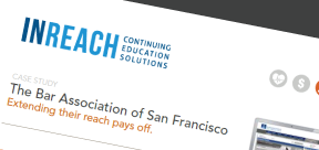 Bar Association of San Francisco grows revenue with InReach