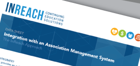 Numerous ways to integrate with your association management system