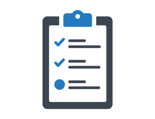 Checklists – They're Not Just for Amateurs